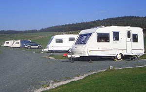 Broadgate Farm Forest of Bowland Caravan Site.